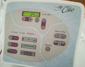 equipo electrodepilación